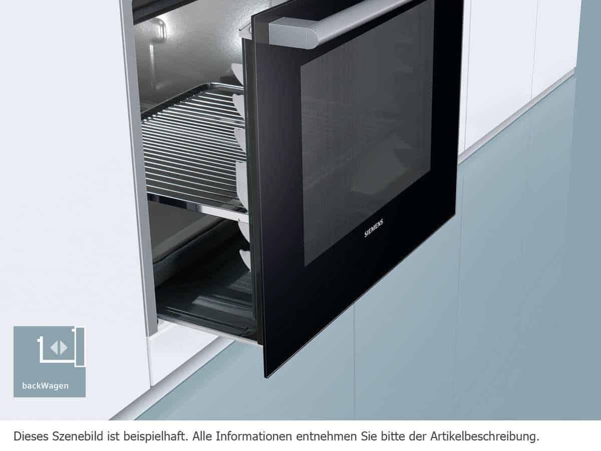 Siemens eq961ev03b top kundenbewertung for Einbaubackofen mit backwagen